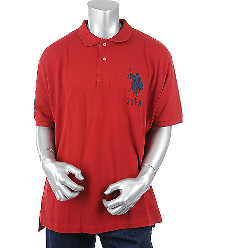 U.S. Polo Association Mens Pique Polo