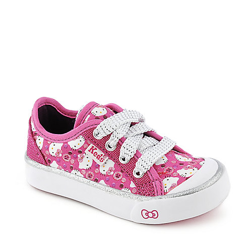 Keds Toddler Mimmy Pink Button