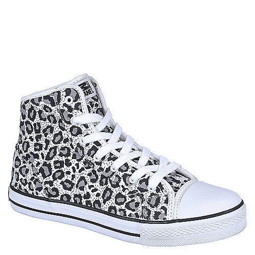 Animal Cheetah Simple Silver