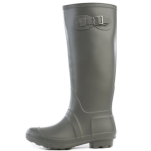 Bamboo Womens Padinton-01 Grey Rain Boots