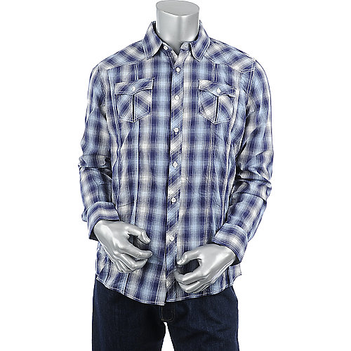 Jordan Craig Mens Plaid Long Sleeve Shirt