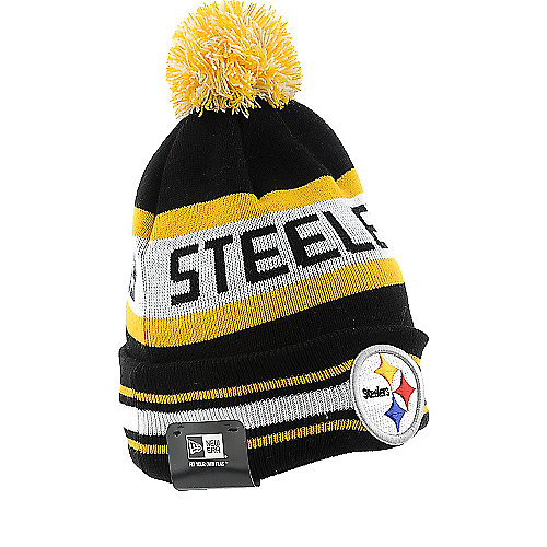 New Era Caps Pittsburgh Steelers Knit Cap