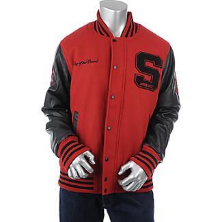 Mens King of the Crowd Letterman Jacket $49.99 AT vintagedancer.com