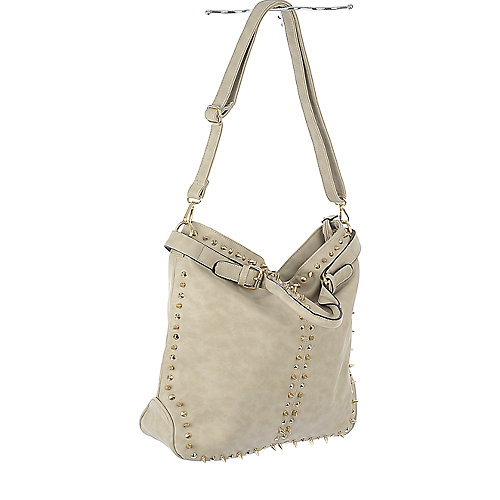 nuG Bone Studded Leather Bag