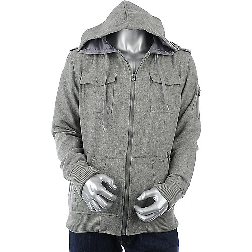 Supreme Society Mens Solid Wool Jacket