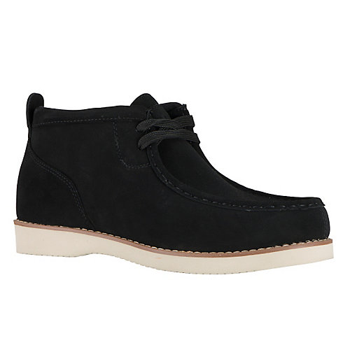 Lugz Freeman Moc Toe Chukka Dress Boots Black