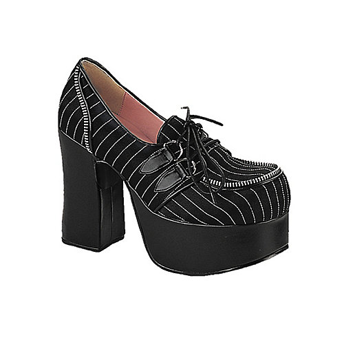 Demonia Charade Black Costume Shoes