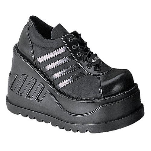 Demonia Stomp Black Costume Shoes