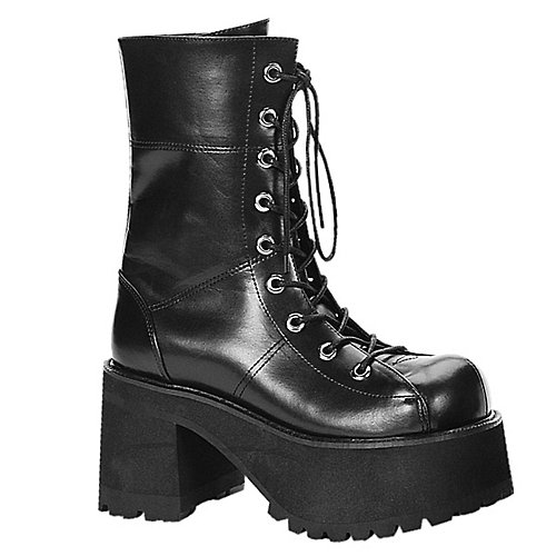 Demonia Ranger Black Costume Shoes
