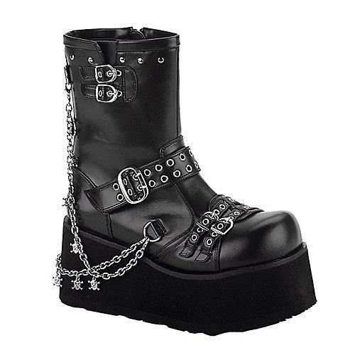 Demonia Clash Black Costume Shoes
