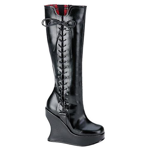 Demonia Bravo Black Costume Shoes
