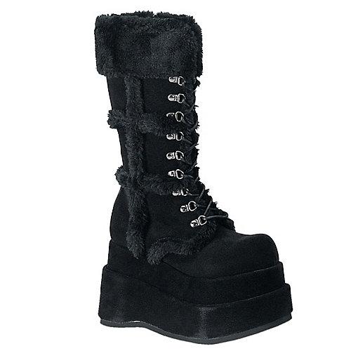Demonia Bear Black Costume Shoes