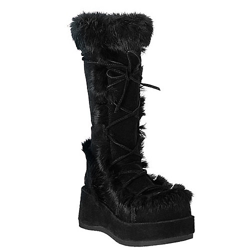 Demonia Cubby Black Costume Shoes