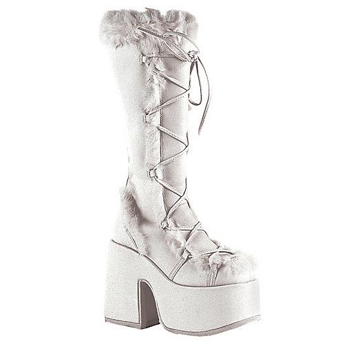 Demonia Camel White Costume Shoes