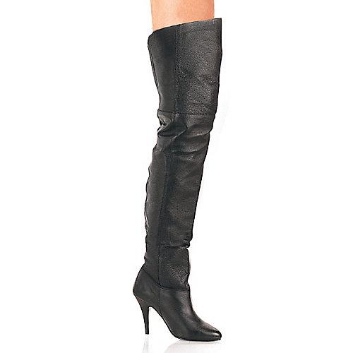 Pleaser Womens Legend-8868 Black Thigh-High Boots