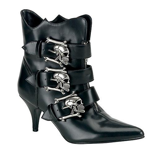 Demonia Fury-06 Black Costume Shoes