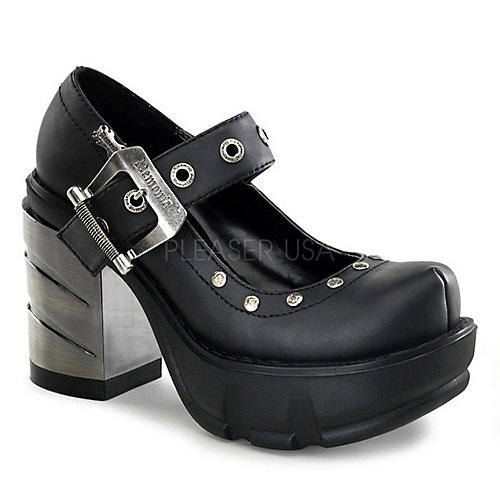 Demonia Sinister-59 Black Costume Shoes