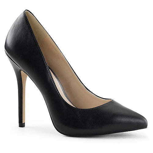 Pleaser Amuse-20 High Heel Pump Black Pump Shoes