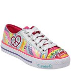 Skechers Lights- Shuffles - Heart Sparks(Toddler/Youth) - 10194L-SMLT