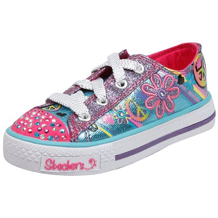 Skechers Lights- Shuffles - Jump N Joy(Toddler/Youth)