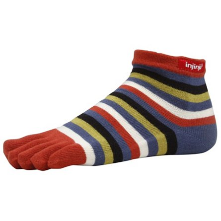 Injinji Performance Mini-Crew Rainbow (3 Pack)