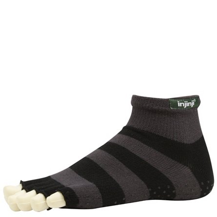 Injinji Yoga Toe-less Mini-Crew (3 Pack)
