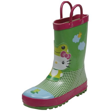 Western Chief Hello Kitty Froggy Rainboot (Toddler/Youth)