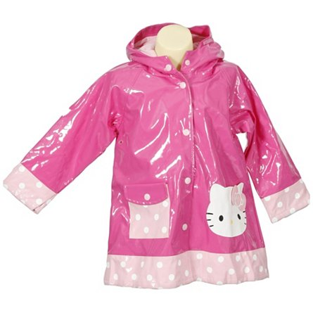 Western Chief Hello Kitty Polka Dotted Cutie Raincoat (Toddler)