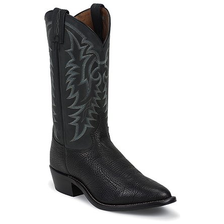 Tony Lama Black Conquistador Shoulder Americana