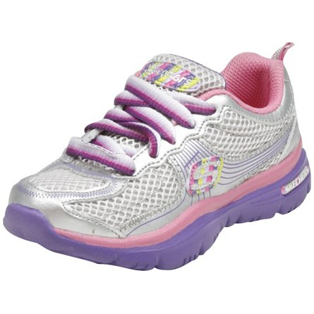 Skechers Lite Sprints- Floating Hearts(Toddler/Youth)