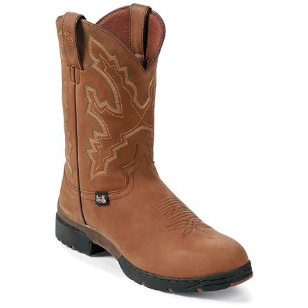 Justin Boots George Strait :03.1 Coffee Westerner Waterproof