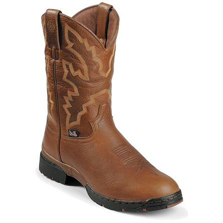 Justin Boots George Strait :03.1 Sunset Rage Waterproof