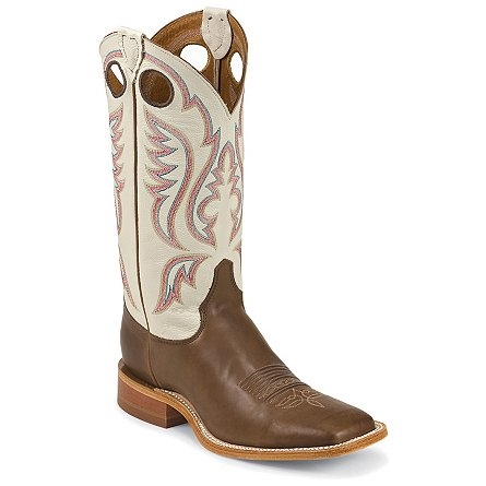 Justin Boots Bent Rail™ Chocolate Burnished Calf