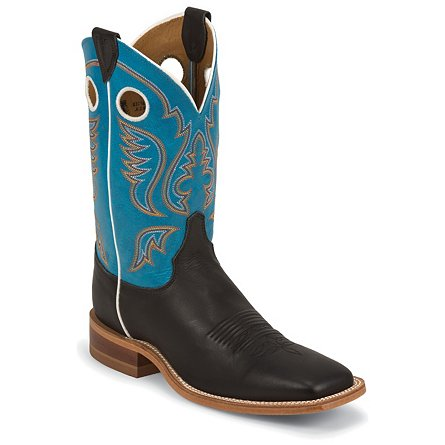 Justin Boots Bent Rail™ Black Chester