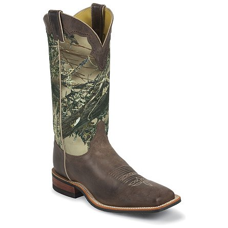 Justin Boots Bent Rail™ America Chocolate Cowhide