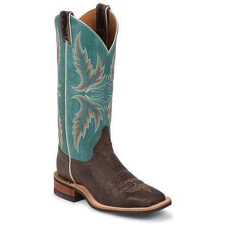 Justin Boots Bent Rail™ Chocolate Puma Cowhide