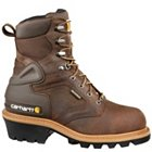 "Carhartt 8"" Waterproof Insulated Logger Soft Toe - CML8129"