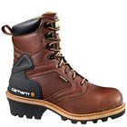 "Carhartt 8"" Waterproof Logger Safety Toe - CML8220"