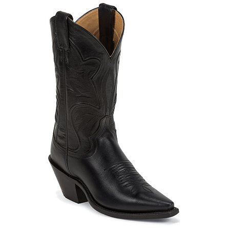 Justin Boots Fashion Black Torino