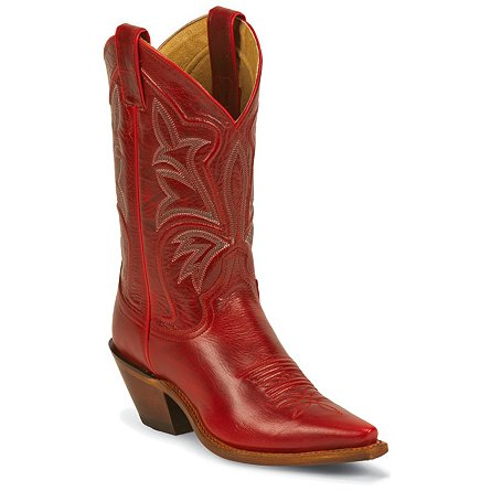 Justin Boots Fashion Red Torino