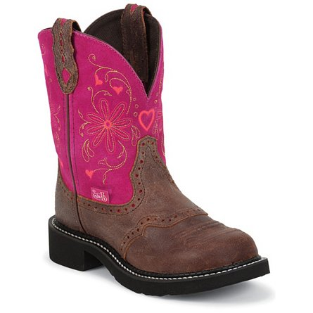 Justin Gypsy® Spice Brown Suede