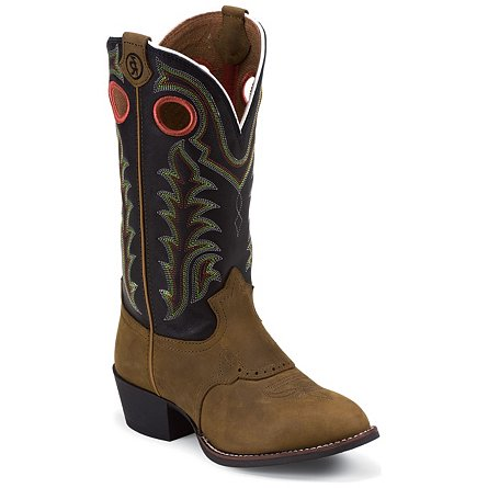 Tony Lama Tan Crazy Horse 3R (Toddler / Youth)