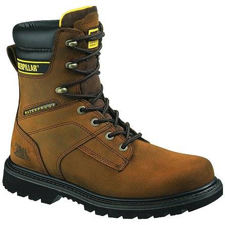 "CAT Footwear Salvo 8"" Waterproof Soft Toe"