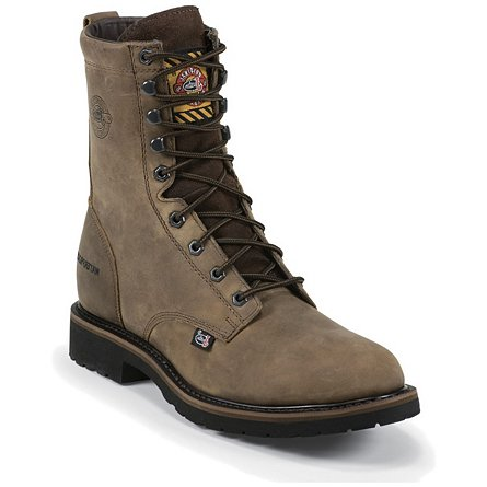 Justin Original Work Wyoming Waterproof Steel Toe
