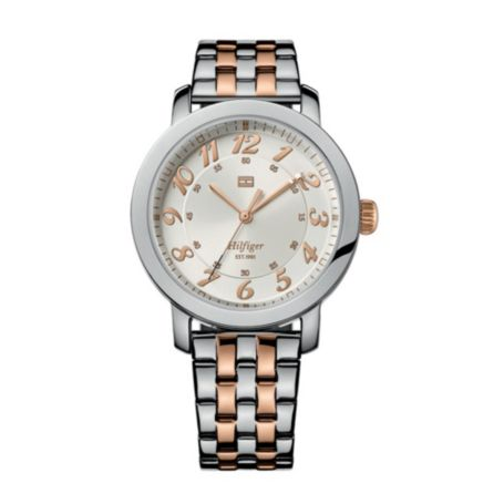 Image for STAINLESS STEEL ROSE GOLD BRACELET PLATED WATCH from Tommy Hilfiger USA