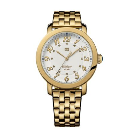 Image for CLASSIC GOLD BRACELET WATCH from Tommy Hilfiger USA