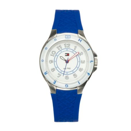 Image for TURKISH SEA SILICON STRAP WATCH from Tommy Hilfiger USA