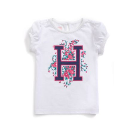 Image for H FLOWERS GRAPHIC TEE from Tommy Hilfiger USA