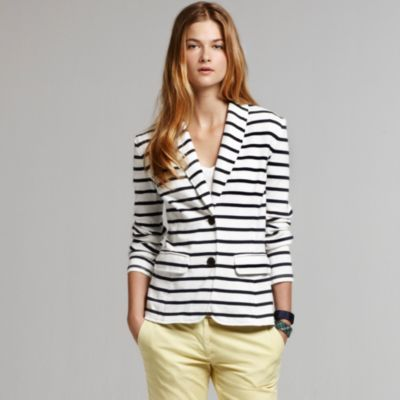 Steal This Look: Tommy Hilfiger's Knit Striped Blazer for Less