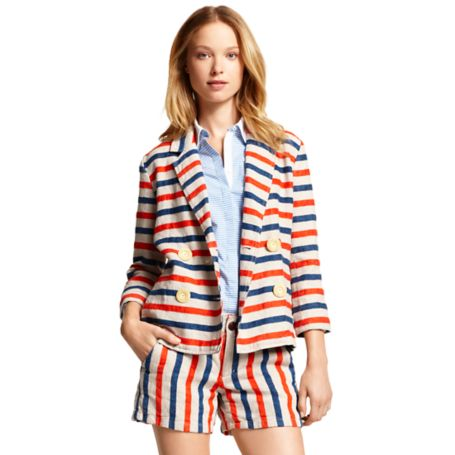 Image for HORIZONTAL STRIPE JACKET from Tommy Hilfiger USA